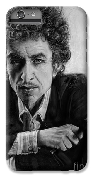 Bob Dylan IPhone 7 Plus Case by Andre Koekemoer