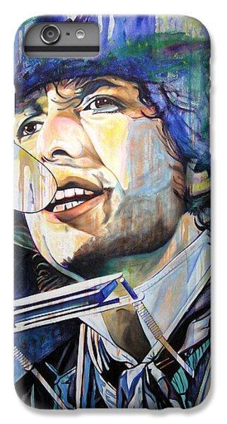 Bob Dylan Tangled Up In Blue IPhone 7 Plus Case by Joshua Morton