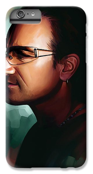 Bono U2 Artwork 1 IPhone 7 Plus Case by Sheraz A