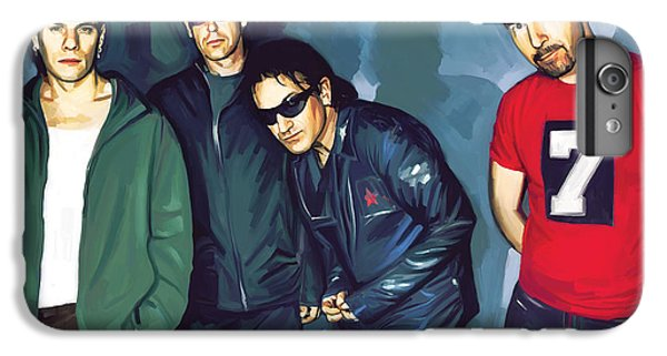 Bono U2 Artwork 5 IPhone 7 Plus Case by Sheraz A