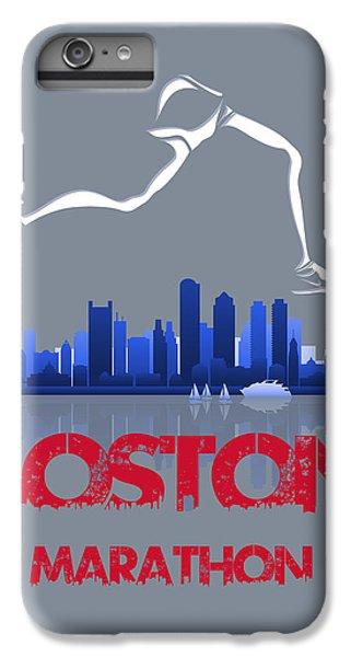 Boston Marathon3 IPhone 7 Plus Case by Joe Hamilton