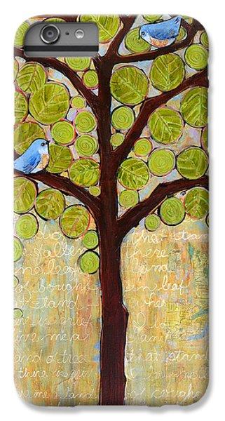 Boughs In Leaf Tree IPhone 7 Plus Case by Blenda Studio