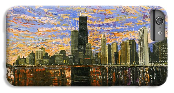Chicago IPhone 7 Plus Case by Mike Rabe