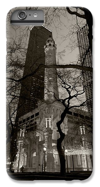 Chicago Water Tower B W IPhone 7 Plus Case by Steve Gadomski