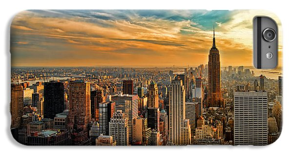 City Sunset New York City Usa IPhone 7 Plus Case by Sabine Jacobs