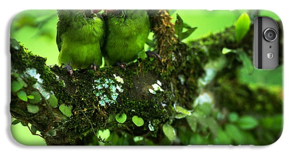 Cobalt-winged Parakeets IPhone 7 Plus Case by Art Wolfe