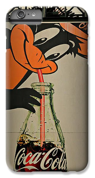 Coca Cola Orioles Sign IPhone 7 Plus Case by Stephen Stookey