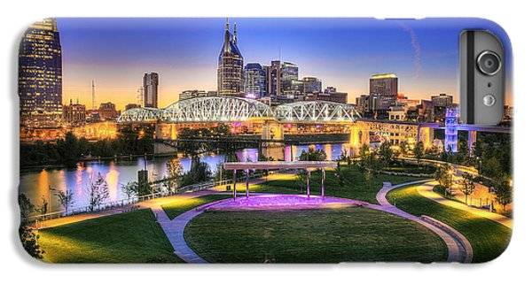 Cumberland Park And Nashville Skyline IPhone 7 Plus Case by Lucas Foley
