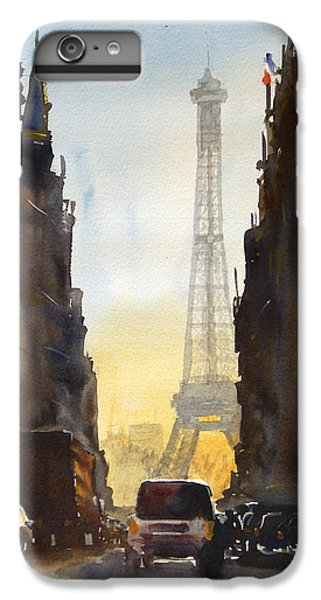 Dawn In Paris IPhone 7 Plus Case by James Nyika