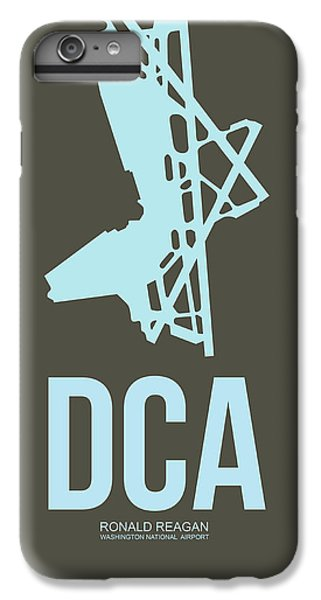 Dca Washington Airport Poster 1 IPhone 7 Plus Case by Naxart Studio