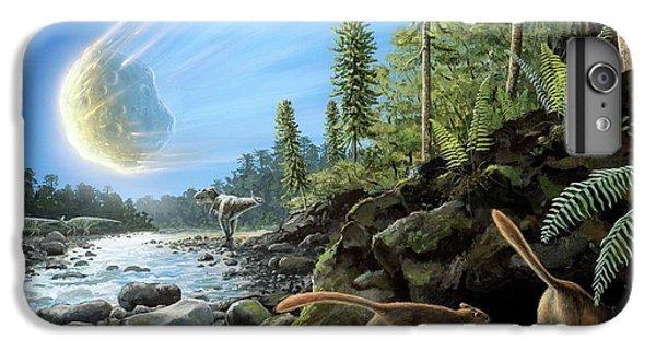 End Of Cretaceous Kt Event IPhone 7 Plus Case by Richard Bizley