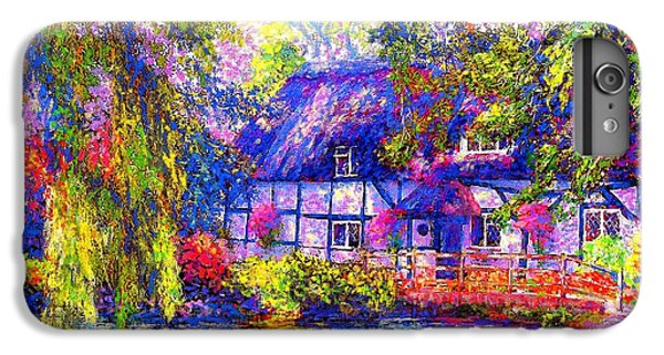 English Cottage IPhone 7 Plus Case by Jane Small