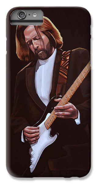Eric Clapton Painting IPhone 7 Plus Case by Paul Meijering