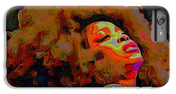 Erykah Badu IPhone 7 Plus Case by  Fli Art