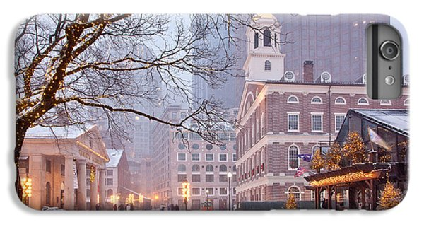Faneuil Hall In Snow IPhone 7 Plus Case by Susan Cole Kelly