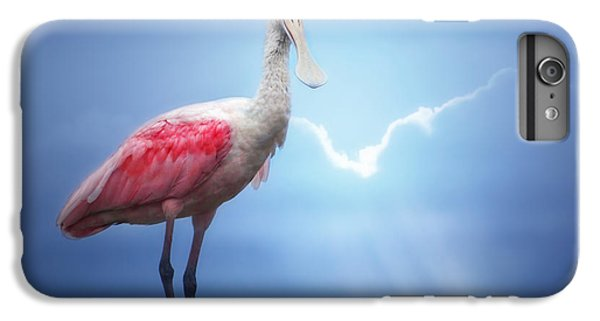 Foggy Morning Spoonbill IPhone 7 Plus Case by Mark Andrew Thomas