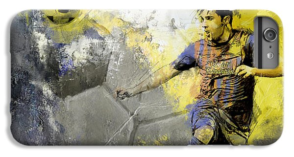 Football Player IPhone 7 Plus Case by Catf