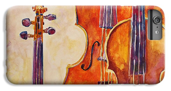 Four Violins IPhone 7 Plus Case by Jenny Armitage