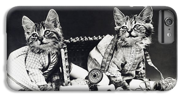 Frees Kittens, C1915 IPhone 7 Plus Case by Granger