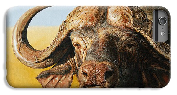 African Buffalo IPhone 7 Plus Case by Mario Pichler