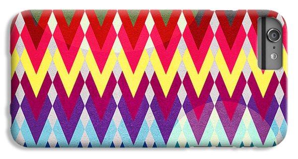 Geometric Colors  IPhone 7 Plus Case by Mark Ashkenazi