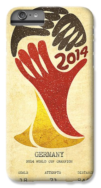 Germany World Cup Champion IPhone 7 Plus Case by Aged Pixel