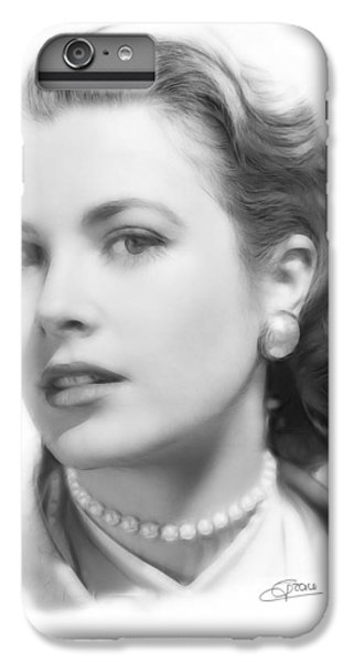 Grace Kelly Pencil IPhone 7 Plus Case by Steve K