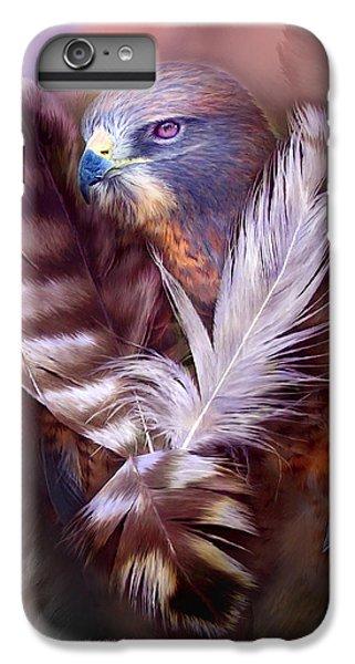 Heart Of A Hawk IPhone 7 Plus Case by Carol Cavalaris