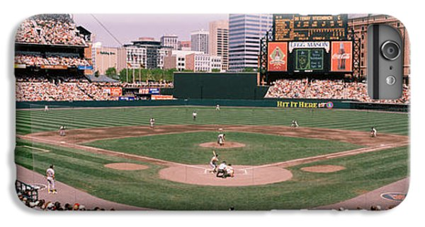 High Angle View Of A Baseball Field IPhone 7 Plus Case by Panoramic Images