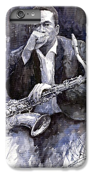 Jazz Saxophonist John Coltrane Black IPhone 7 Plus Case by Yuriy  Shevchuk