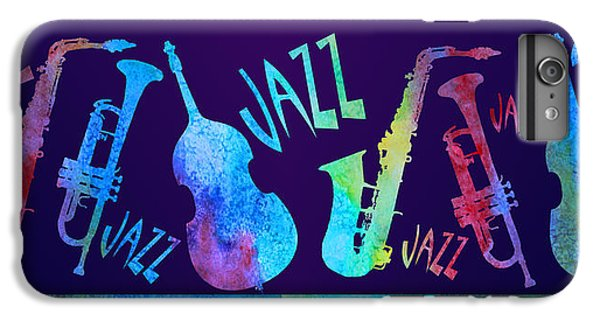 Jazzy Combo IPhone 7 Plus Case by Jenny Armitage