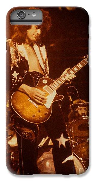 Jimmy Page 1975 IPhone 7 Plus Case by David Plastik