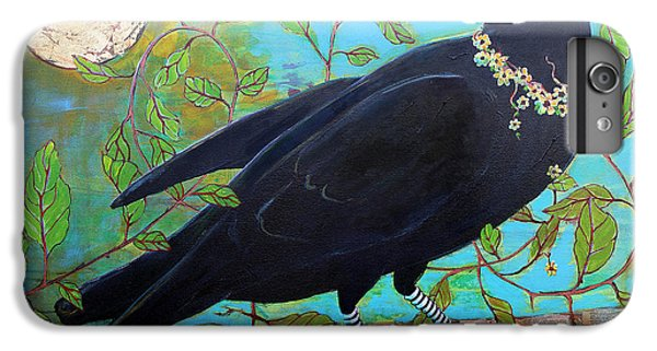 King Crow IPhone 7 Plus Case by Blenda Studio