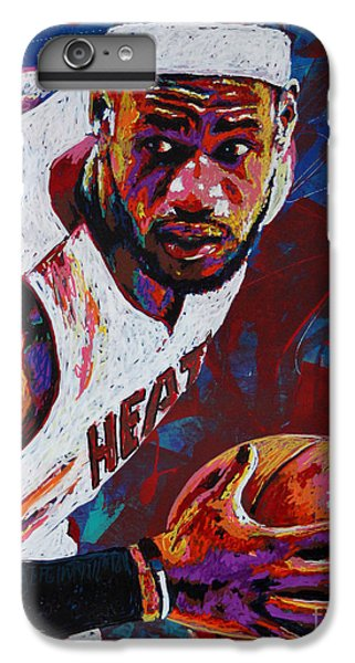 King James IPhone 7 Plus Case by Maria Arango