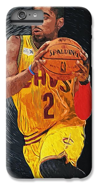 Kyrie Irving IPhone 7 Plus Case by Taylan Apukovska