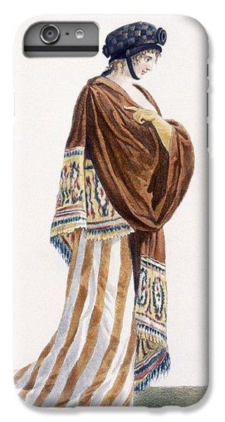 Ladies Dress With Velvet Shawl IPhone 7 Plus Case by Pierre de La Mesangere