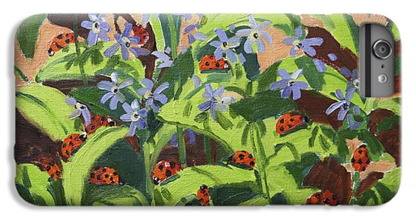 Ladybirds IPhone 7 Plus Case by Andrew Macara
