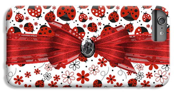 Ladybug Magic IPhone 7 Plus Case by Debra  Miller