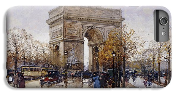 L'arc De Triomphe Paris IPhone 7 Plus Case by Eugene Galien-Laloue