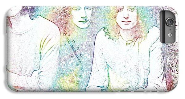 Led Zeppelin Tie Dye IPhone 7 Plus Case by Dan Sproul