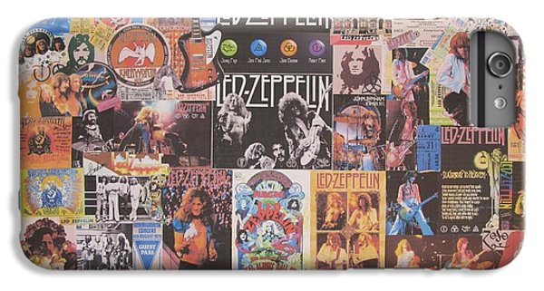 Led Zeppelin Years Collage IPhone 7 Plus Case by Donna Wilson