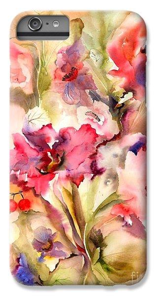 Lilies IPhone 7 Plus Case by Neela Pushparaj