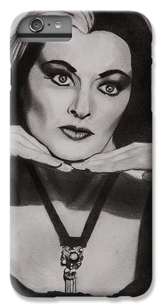 Lily Munster IPhone 7 Plus Case by Brian Broadway