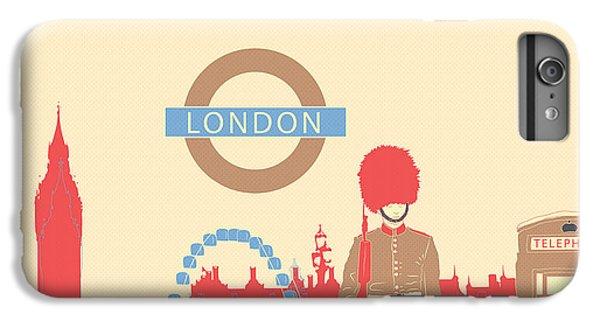 London England IPhone 7 Plus Case by Famenxt DB