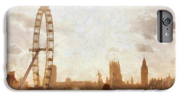 London Skyline At Dusk 01 IPhone 7 Plus Case by Pixel  Chimp