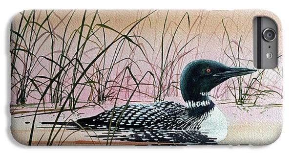 Loon Sunset IPhone 7 Plus Case by James Williamson