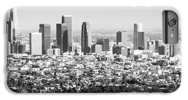 Los Angeles Skyline Panorama Photo IPhone 7 Plus Case by Paul Velgos
