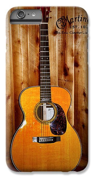 Martin Guitar - The Eric Clapton Limited Edition IPhone 7 Plus Case by Bill Cannon