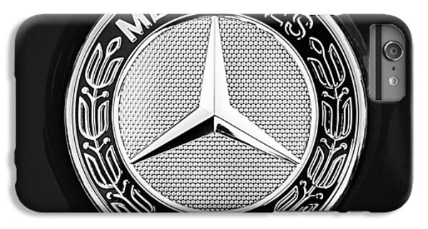 Mercedes-benz 6.3 Gullwing Emblem IPhone 7 Plus Case by Jill Reger