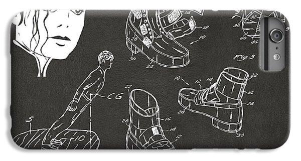 Michael Jackson Anti-gravity Shoe Patent Artwork Vintage IPhone 7 Plus Case by Nikki Marie Smith